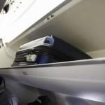 飛行機 荷物棚